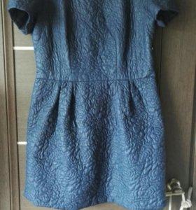 Платье и теплая юбка