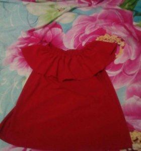 Блуза рюш