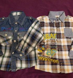 Рубашки детские.на 3-3,5 годика