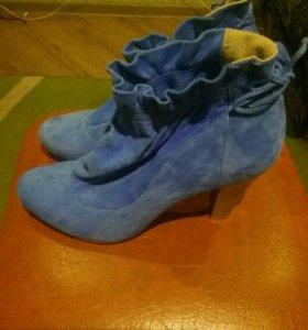 ботинки женские (замш)