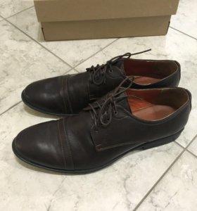 Туфли мужские нат.кожа. Новые