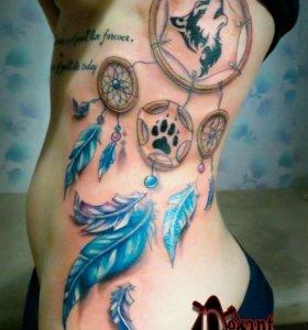 Художественная татуировка TATTOO