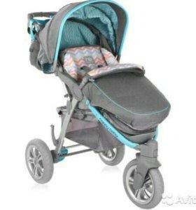 Прогулочная коляска Happy Baby Neon Sport New Blue