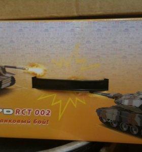Радиоуправляемый танковый бой.