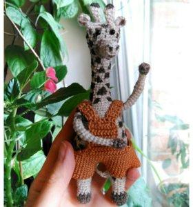 Жирафик в отпуске