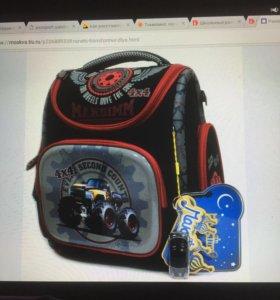 Новый Ранец рюкзак анатомический для школьника