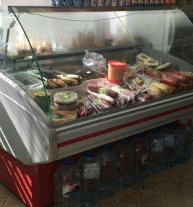 Витрина холодильник