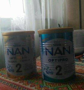 Детское питание нан 2