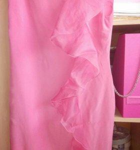 Розовые платье