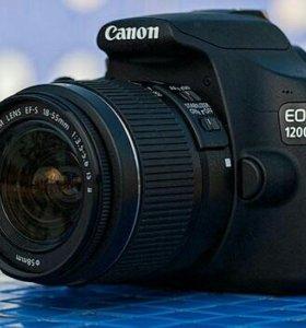 Canon EOS 1200D Kit + sdhc card 8Gb