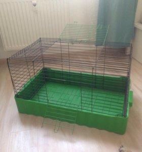 Клетка для морской свинки, кролика или шиншиллы