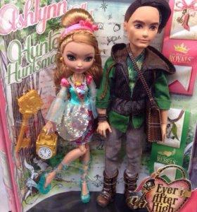 Куклы Ever After High:Эшлин Элла и Хантер Хантсмен