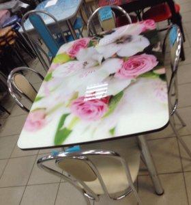 Столы, стулья, напольные вешалки