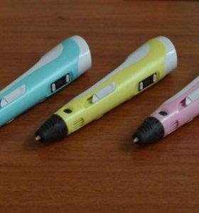 3D ручка с дисплеем +9м пластика + Иструкция