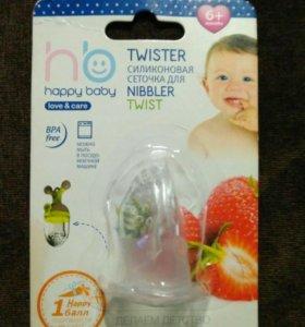 Сеточка силиконовая для ниблера happy baby