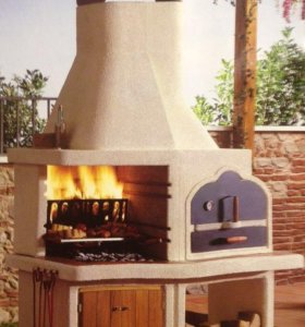 Печь-барбекью Palazzetti