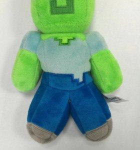 Мягкая игрушка из игры Minecraft
