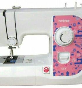 Новая Швейная машинка BROTHER CX-5. Доставка