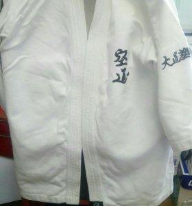 Кимоно, протекторы и шлем для КУДО