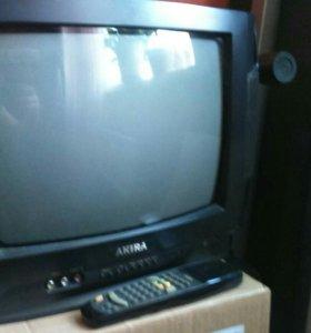 Телевизор AKIRA с пультом 37 см