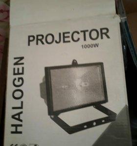 Прожектор галогенный 1000W