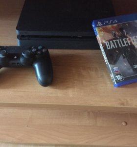 PlayStation 4 Slim + battlefield 1
