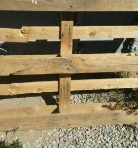 Поддон деревянный 4шт
