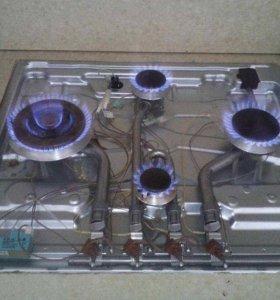 ремонт газовых котлов, колонок, плит с выездом.