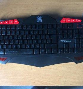 Продам игровые девайсы клавиатура и мышь.