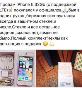 iPhone 5 32G LTE