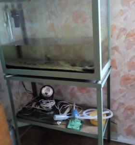 Аквариум 100-120 литров