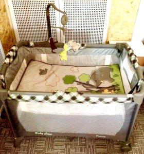Манеж-кровать Baby Care Fantasy