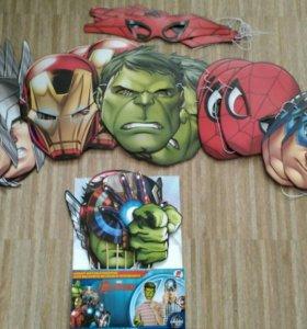Атрибутика для проведения супергеройского дня рожд