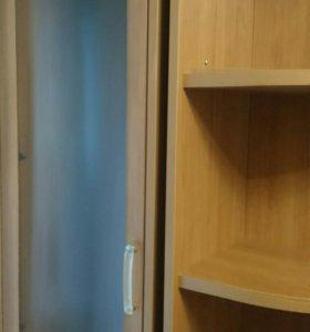 Мебель угловой шкаф+ книжный шкаф+ звершающий стел