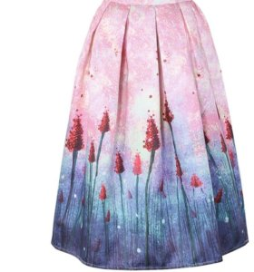 Новая юбка винтажная
