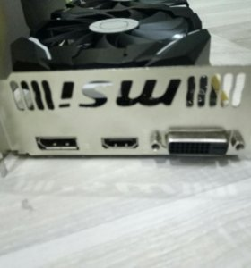 Видеокарта Msi GeForce gtx 1060 6 gb ocv1
