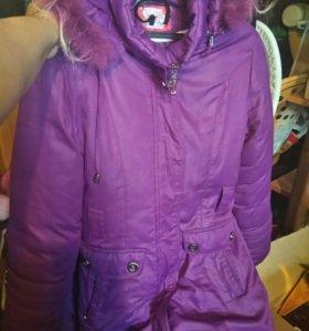куртка на девочку 6-9 лет