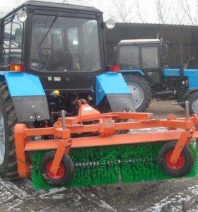 Услуги трактор с щеткой