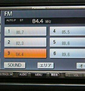 Японская 2din сенсорная Panasonic CN-MW50D в Красн