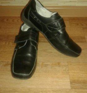 Туфли школьные для мальчика.
