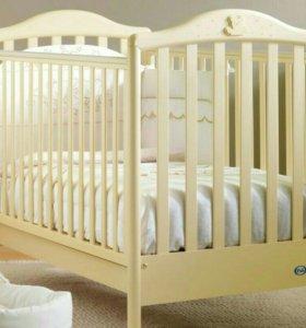 Детская кроватка Pali+матрас