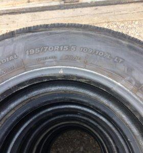 Грузовые шины Bridgestone 195/70/15.5