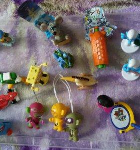 Кинднр сюрприз игрушки