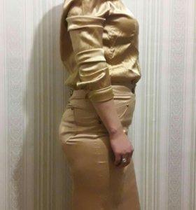 Юбка с блуской