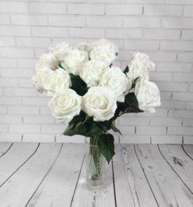 Розы из латекса как настоящие