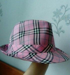 Шляпа розовая