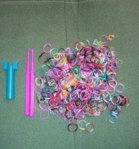 Резиночки и крючки для плетения