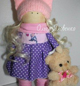 Продается куколка ручной работы