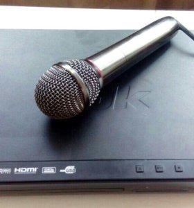 Караоке с микрофоном BBK