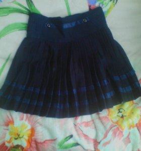 Плесерованная юбка
